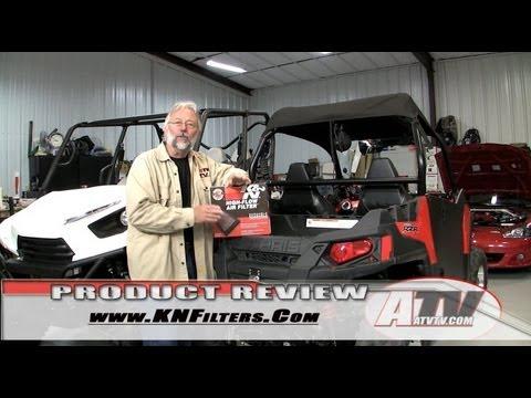 K&N Performance Air Filter on Polaris RZR 570 - ATVTV Review