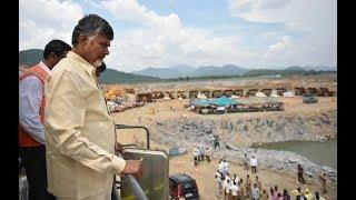 CM Chandrababu Naidu To Inspect Polavaram Project Works Today