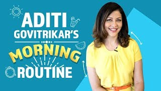 Aditi Govitrikar's Morning Routine | Fashion | Bollywood | Pinkvilla