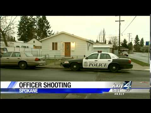 Video shows robbery suspect shot, killed by Spokane Police