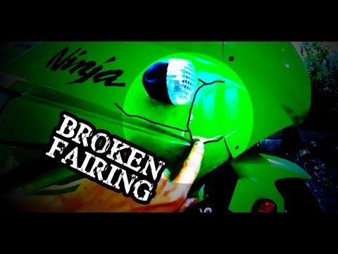 Repair Cracked and Broken Motorcycle Fairing