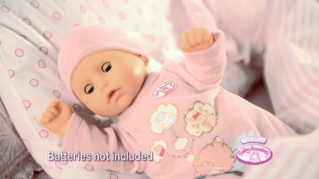 My First Baby Annabell Baby Moves - YouTube