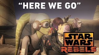 """Here We Go- """"Wolves and a Door"""" Preview   Star Wars Rebels"""