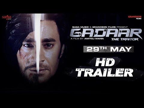 """Gadaar The Traitor"" Trailer - Harbhajan Mann   New Punjabi Movies 2015 Full Movie Rel. 29th May"