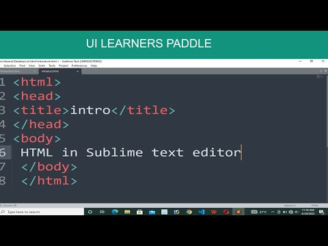 Download  HTML IN SUBLIME | How to Create and Run  Html in Sublime Text Editor Gratis, download lagu terbaru