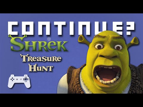 Shrek Treasure Hunt (PS1) - Continue?