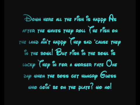 Under The Sea - The Little Mermaid Lyrics