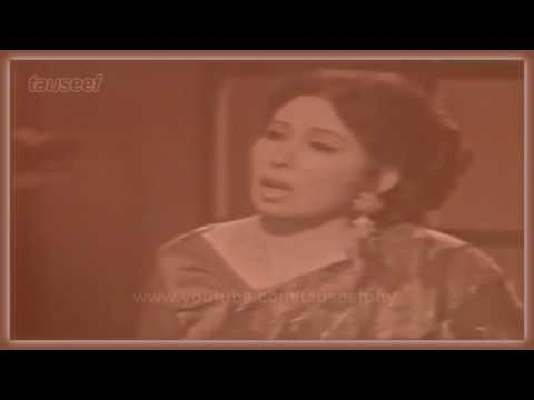Iqbal Bano sings Baqi saddiqi- Daagh-e-dil ham ko yaad aane...