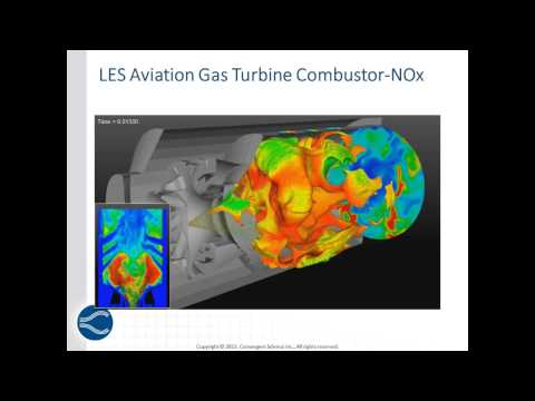 CONVERGE™ Webinar Series:Eliminating Meshing from Gas Turbine and Burner CFD Simulations