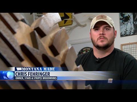 Montana Made: Stars & Stripes Woodworking