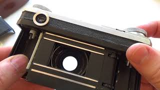 KIEV 4A Early USSR Russian 35mm Contax copy Camera + Jupiter 8m lens #7300213