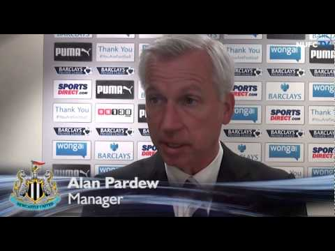 Colback And Pardew Post-Manchester City