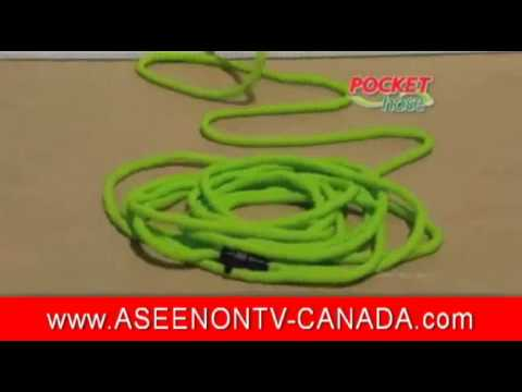 Pocket Hose Canada Infomericial As Seen on TV Canada