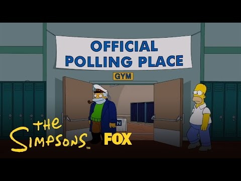 Homer Votes 2012 | The Simpsons | Animation on FOX