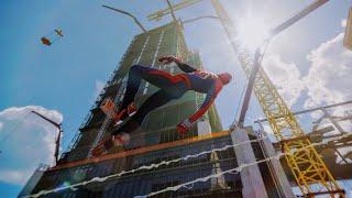 Marvel's Spider-Man Free Roam Gameplay