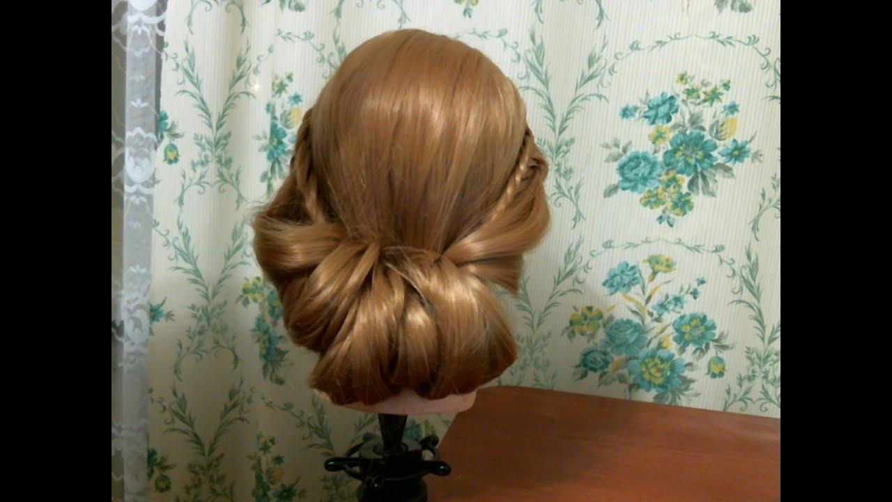 Причёски на каждый день собственными руками. Фото №1