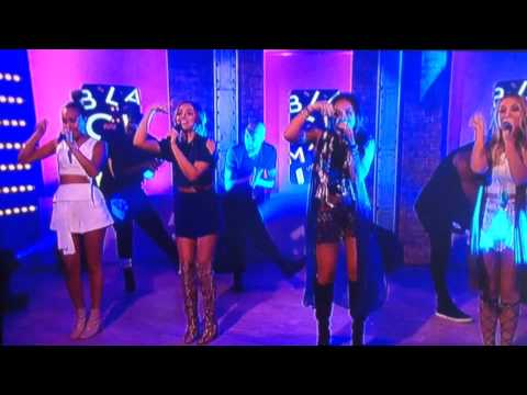 Little mix performing Black Magic on This Morning
