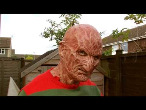 NEW Part 4  (torched 4) Freddy Krueger Silicone Mask