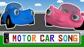 Motor Car Song | Nursery Rhymes | Vehicle Songs For Children | Baby Rhyme