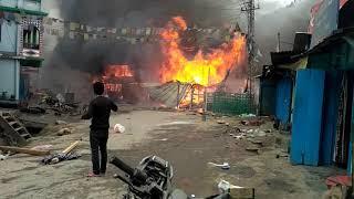Fire on DIRANG         ARURANCHAL PRADESH