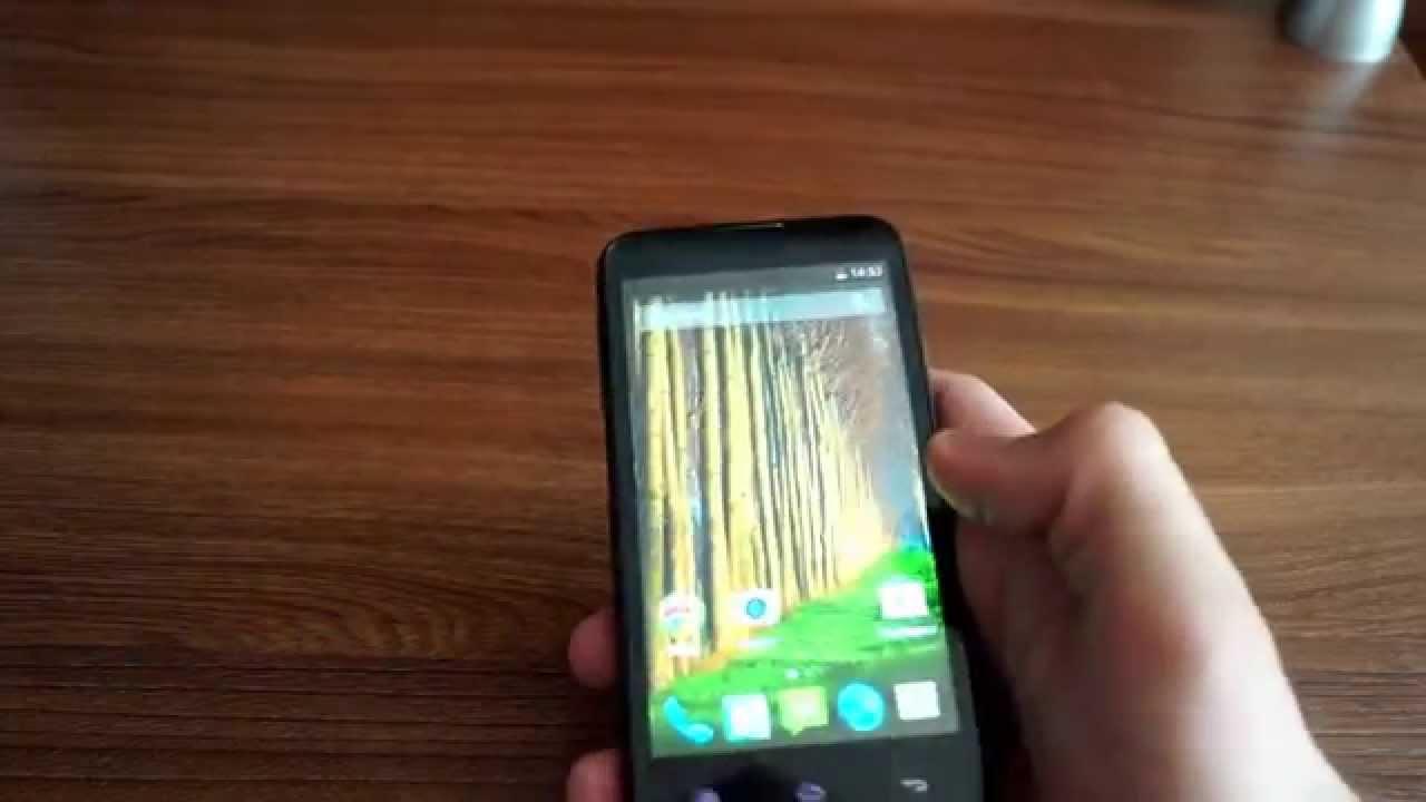 Обзор телефона Fly IQ4415 Quad ERA style 3 - YouTube