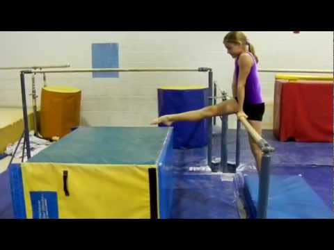 Uneven Bar Drills- Preteam, Level 2, Level 3, Level 4