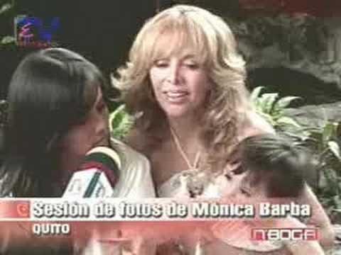 Sesión de fotos de Mónica Barba