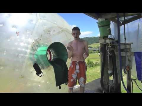 Zorb Globe Riding - Rotorua, New Zealand