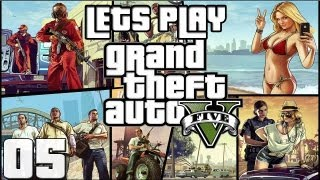 Let's Play GTA V  - 05 - Customising Cars - With Commentary (PS3)