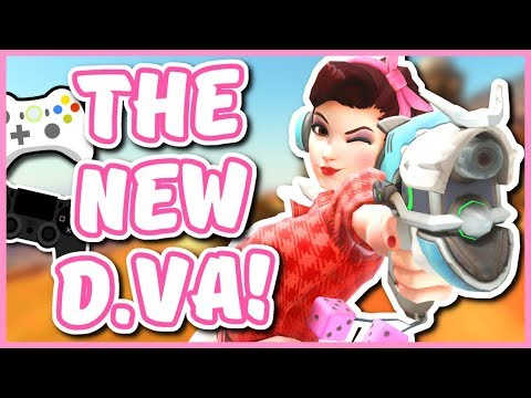Overwatch - THE NEW D.VA (First Look on Console)