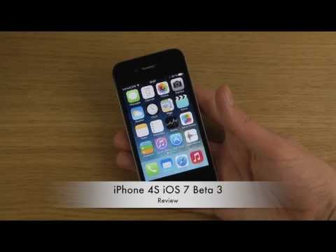 iPhone 4S iOS 7 Beta 3 - Review
