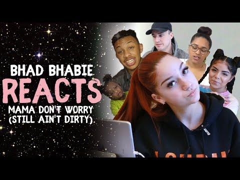 """Danielle Bregoli reacts to BHAD BHABIE """"Mama Don't Worry (Still Ain't Dirty)"""" roasts & reaction vids thumbnail"""