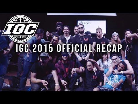 [IGC2015] IGC Offical Recap [EmazingLights.com]