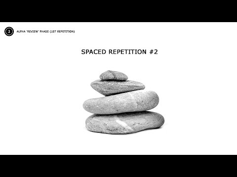 Spaced Repetition #2 ✍ Study Aid Music with Isochronic Tones ✍ Focus & Conceration Music