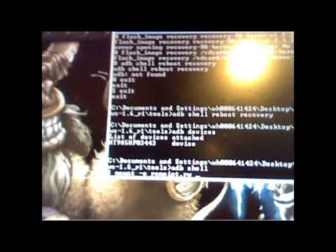 How To Root CDMA HTC Hero and install a custom recovery image