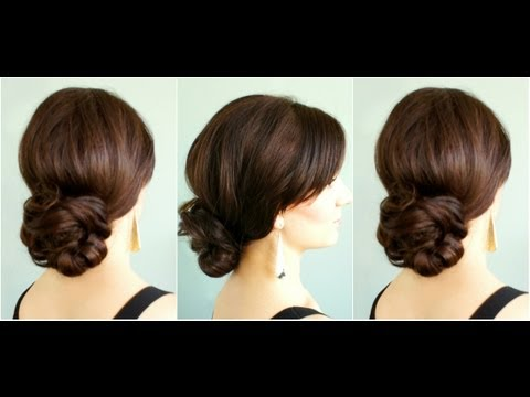 Elegant Low Bun  YouTube - Formal Hairstyles For Medium Hair