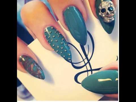Matte Almond Nails Almond Nails Tumblr