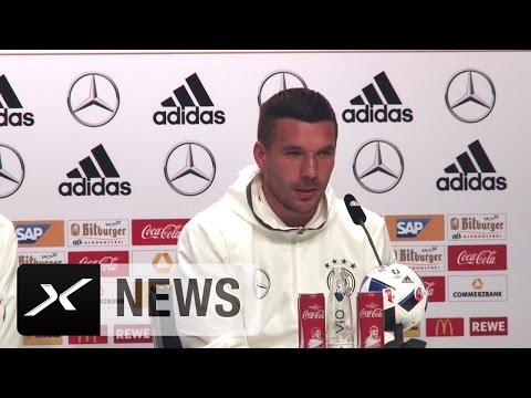 """Lukas Podolski: Hochzeit von Bastian Schweinsteiger? """"Weiß von nichts""""   EM 2016"""