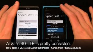 HTC Titan II vs. Nokia Lumia 900 Dogfight Part 2