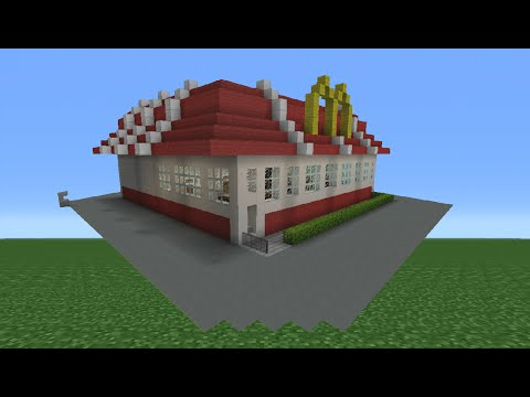Minecraft Tutorial: How To Make A McDonald's Restaurant