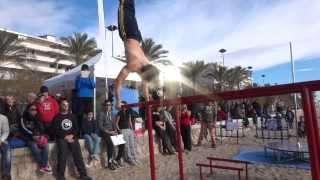 1rst SPARTANS BARZ CHAMPIONSHIP STREETWORKOUT & CALISTHENICS (Calafell,Spain 2013)