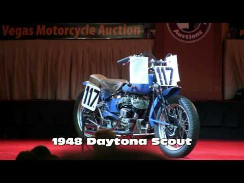 Antique Auto Daytona Racing on 1948 Indian Daytona Racing Scout 2010 Las Vegas Motorcycle Auction
