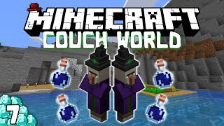 Emeralds and Witches! Minecraft Survival Let's Play - Episode 7