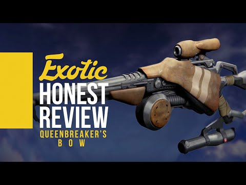 Queenbreaker's Bow HONEST Review - Destiny Fully Upgraded Weapon Review (Destiny Funny Gaming)