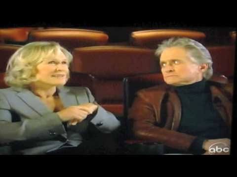 Glenn Close & Michael Douglas(Fatal Attraction reunion)