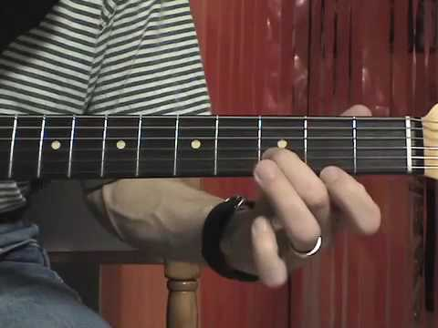 Blues lick in E