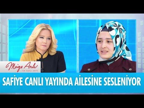Safiye canlı yayında ailesine seslendi - Müge Anlı İle Tatlı Sert 20 Şubat 2018