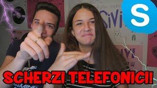 Download SCHERZI TELEFONICI SU SKYPE AI FAN! | NEW SERIE 3Gp Mp4