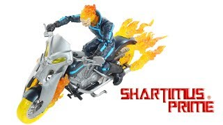 Marvel Legends Ghost Rider Motorcycle Ultimate Hasbro Comic Action Figure Toy Vehicle Review