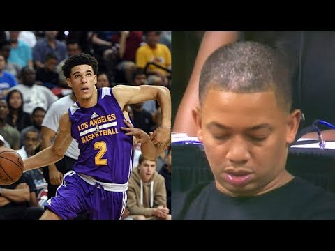 Tyronn Lue Falls Asleep During Lonzo Ball S Triple Double